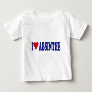 I Liebe-Wermut Baby T-shirt