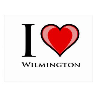 I Liebe Wilmington Postkarte