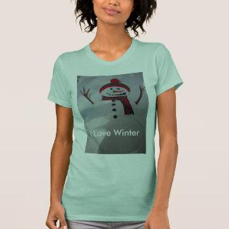 I Liebe-Winter T-Shirt