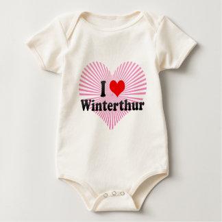 I Liebe Winterthur, die Schweiz Baby Strampler