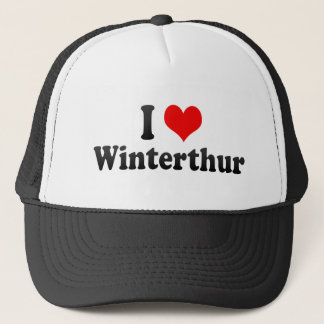 I Liebe Winterthur, die Schweiz Truckerkappe
