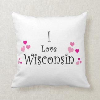 I Liebe Wisconsin Kissen