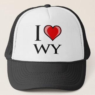 I Liebe WY - Wyoming Truckerkappe