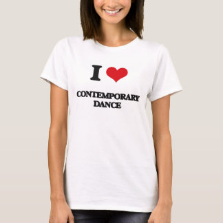 I Liebe-zeitgenössischer Tanz T-Shirt