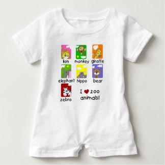 I Liebe-Zoo-Tier-Babyraglan-T - Shirt