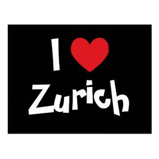 I Liebe Zürich Postkarte