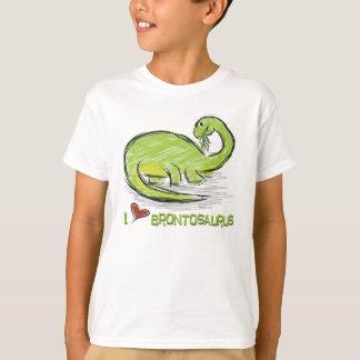 I Liebebrontosaurus-T - Shirt