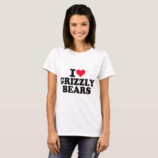 I Liebegrizzly-Bären T-Shirt
