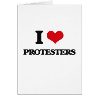 I LiebeProtesters Karte