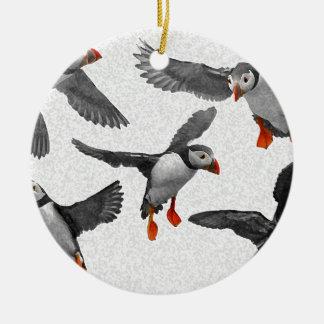 I LiebePuffins! Keramik Ornament