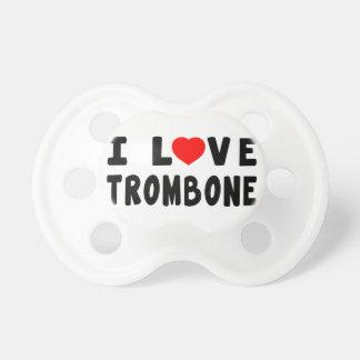I LiebeTrombone Baby Schnuller