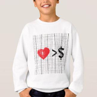 I Linien des Herzens t Sweatshirt