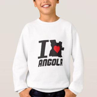 i love angola sweatshirt