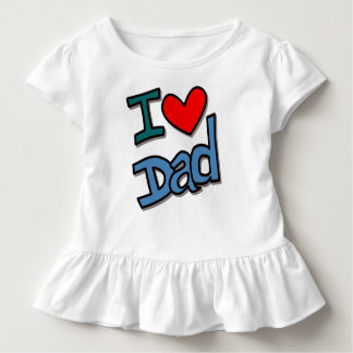 I love dad kleinkind t-shirt