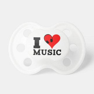 I love Music Baby Schnuller