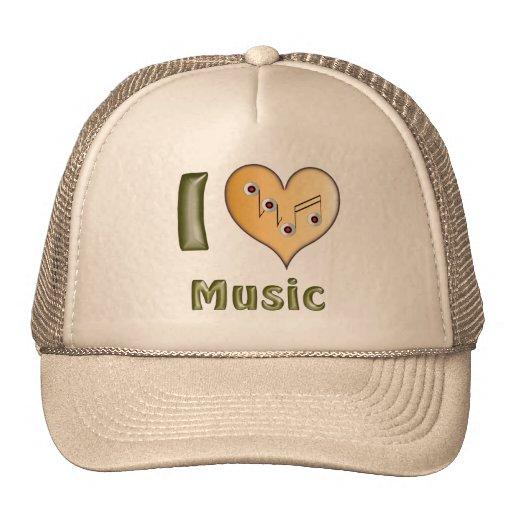 I love Music Netzcap