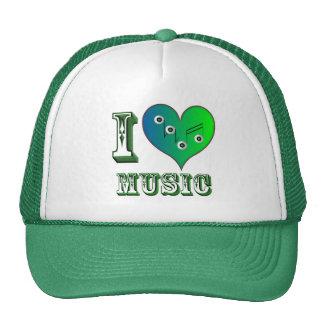 I love Music Retrokult Cap