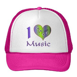 I love Music Netzmütze
