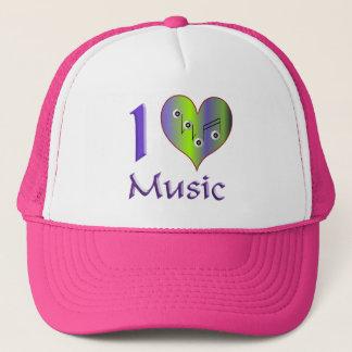I love Music Truckerkappe