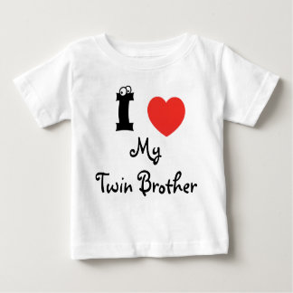 I love my twin brother shirt. t shirt