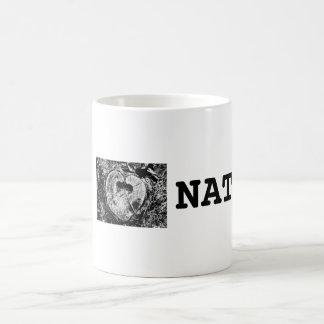 I love nature Weiß 325 ml Klassische, weiße Tasse