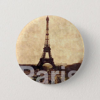 I Love Paris Runder Button 5,7 Cm