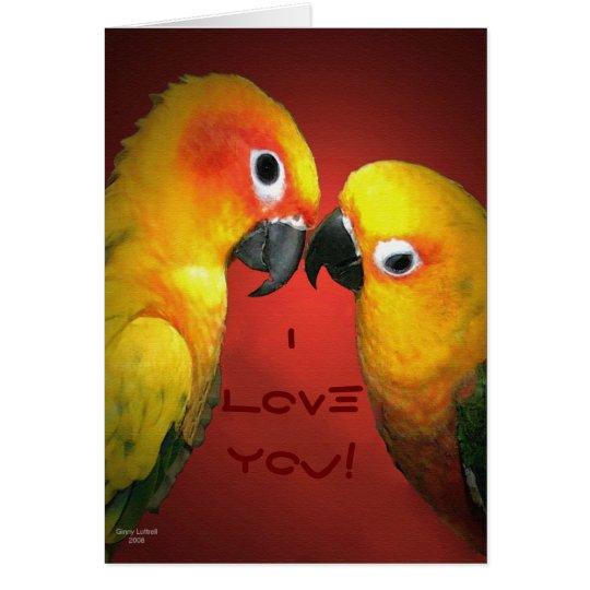 I LoveYou! Gruß-Karte Grußkarte