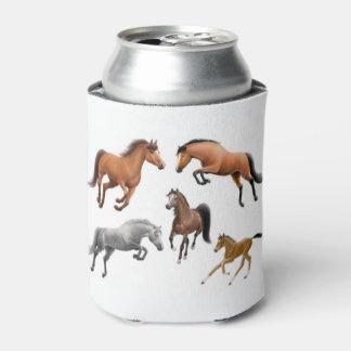 I machen Liebe-Jäger-Pullover-Pferde cooleres ein Dosenkühler