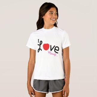 I Mädchent-shirt der Liebe selbst T-Shirt