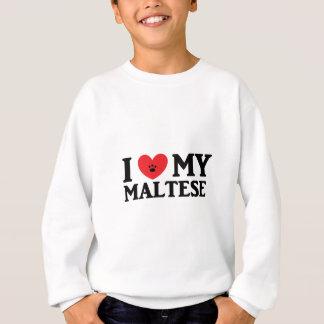 ♥ I mein maltesisches Sweatshirt