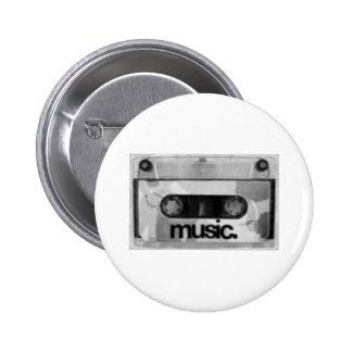 i♥music runder button 5,7 cm