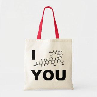 I (Oxytocin), das Sie sich bauschen Budget Stoffbeutel