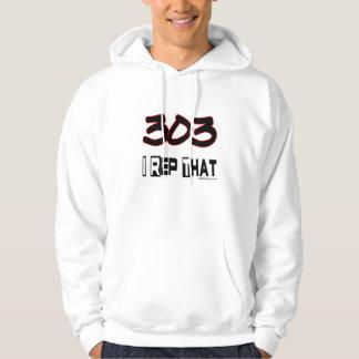 I Repräsentant der Postleitzahl 303 Hoodie