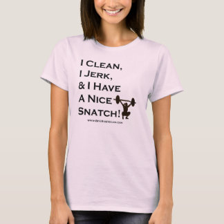 I sauber, stoße ich, u. habe ich ein Nizza T-Shirt