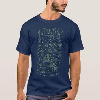 I schießen die reisende Liebe und etwas T-Shirt