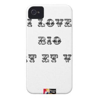 I schließt auf Bio- (SEHR UND GRÜN) - Wortspiele iPhone 4 Case-Mate Hülle