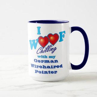 I Schuss-deutscher Drahthaar-Zeiger Tasse