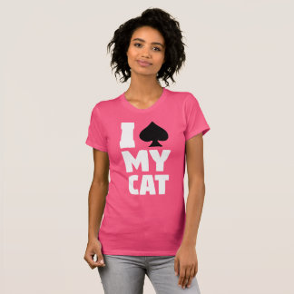 I Spaten meine Katze (I sterilisiert meine Katze) T-Shirt