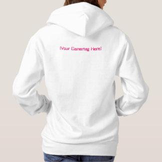I Spiel deshalb BIN ICH Ihr Gamertag rosa Hoodie