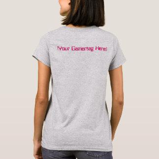 I Spiel deshalb BIN ICH Ihr Gamertag rosa T-Shirt