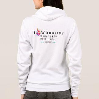 I Training, zum des verrückten Hoodie-Sweatshirts Hoodie