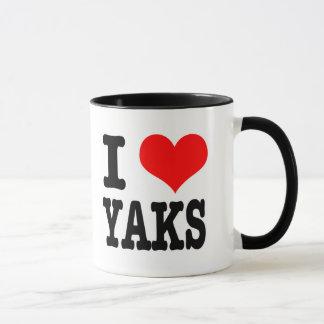 I YAK DES HERZ-(LIEBE) TASSE