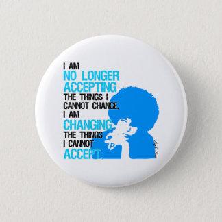 Ich ändere Sache-runden Knopf Runder Button 5,1 Cm