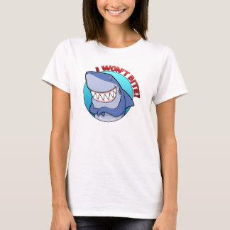 Ich beiße nicht den T - Shirt der Frauen