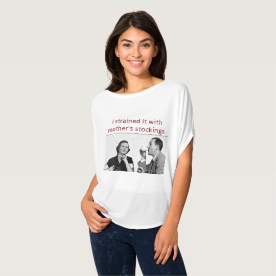 ICH BELASTETE ES MIT DEN STRÜMPFEN DER MUTTER T-Shirt