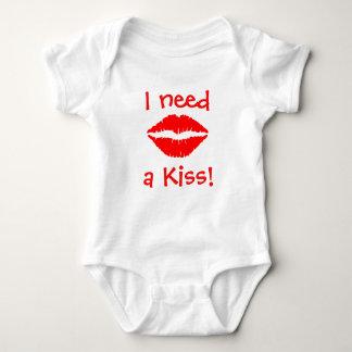 Ich benötige einen Kuss! Baby Strampler