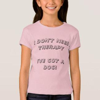 ICH BENÖTIGE NICHT THERAPIE - DIE ANGEPASSTEN T-Shirt