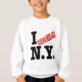 Ich besetze New York Sweatshirt