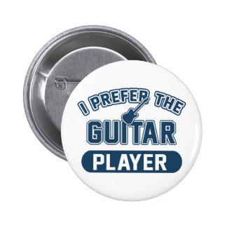 Ich bevorzuge den Gitarristen Runder Button 5,7 Cm