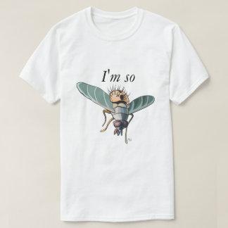 Ich bin also Fliege - lustiges Wortspiel-Shirt T-Shirt